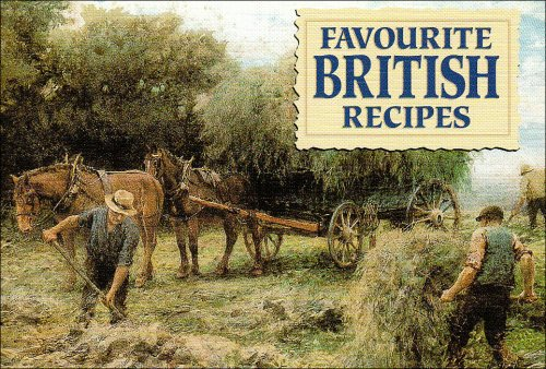Favourite British Recipes Cover Image