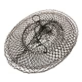 #10: NF&E Foldable Fishing Keep Net Crab Fish Shrimp Crayfish Trap Cage 60cm - River Lake