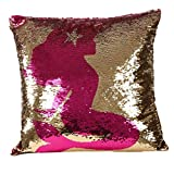 Best Home Fashion Designs Covers Sofa - 40cm * 40cm Double Couleur Glitter Paillettes taies Review
