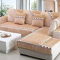 New day®-Inverno cuscino del divano antiscivolo europeo divano peluche cuscino , 110*110cm