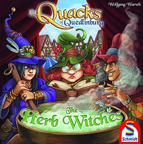 Schmidt Spiele Quacks of Quedlinburg: Die Kräuter Hexen Expansion Spiel - Hexe Kraut