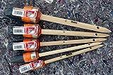 5 x TOP Ringpinsel: Je 1 Ringpinsel in der Größe 2 - 4 - 6 - 8 und 10 - Maler Pinsel Set Rundpinsel Lackierpinsel China Borsten Pinsel Lackpinsel