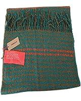 CODELLO Damen Schal POETRY GRUNGE SCARF in Türkis/Beige
