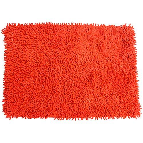 MSV 140516 - naranja alfombra de algodón 80 x 50 x 0,1 cm