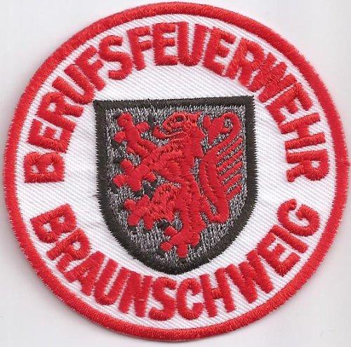 Feuerwehr Berufsfeuerwehr Uniform Abzeichen Braunschweig Aufnäher Patch