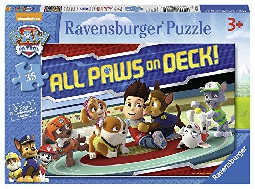 PAW PATROL- Patrulla Canina Puzzle 35 PZAS (Ravensburger 08776 1)