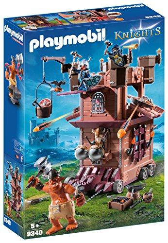 Playmobil fortezza mobile dei guerrieri, 9340