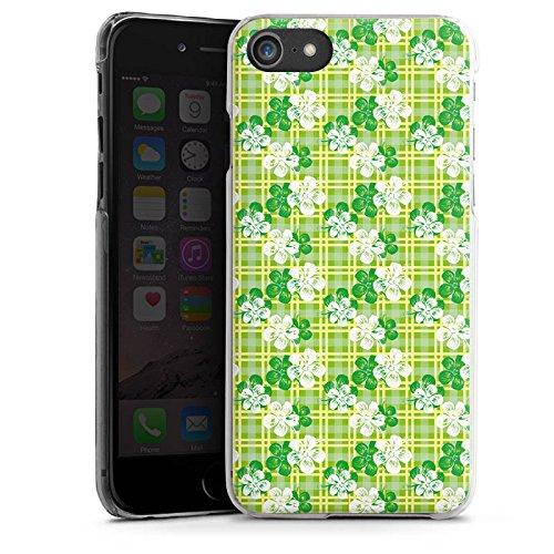 Apple iPhone X Silikon Hülle Case Schutzhülle Blumen Muster Sommer Hard Case transparent
