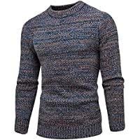Ansenesna Camisetas Hombre Manga Camisas Corta Sudaderas SuéTer del Invierno OtoñO Jersey Jersey Delgado Outwear