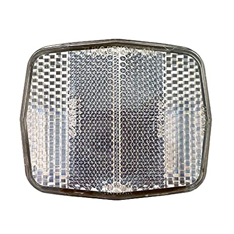 Bike Front Reflector universal Handlebar Fork mount front cycle reflecter