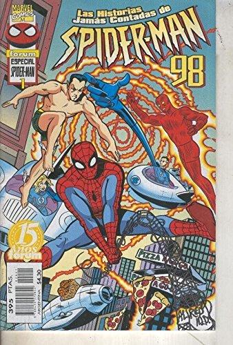 Las historias jamas contadas de Spiderman especial 1998