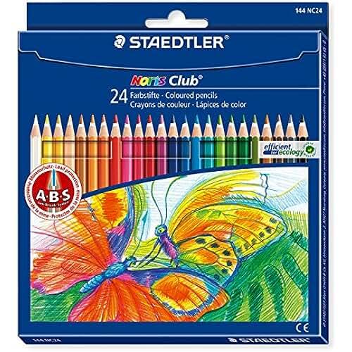 material escolar para la vuelta al cole Staedtler Noris Club - Pack de 24 lápices de colores