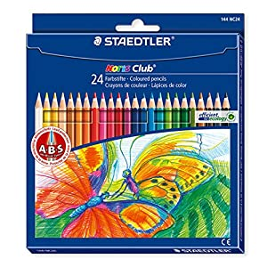 Staedtler Noris Club – Pack de 24 lápices de colores, Multicolor