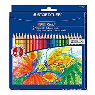 Staedtler Noris Club – Pack de lápices de colores