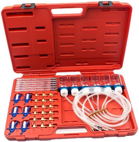 Preisvergleich Produktbild Common Rail Tester mit 24 Adaptern Prüfgerät für Dieselmotoren Denso C1 C3 Siemens C3 Delphi Einspritzdüsen