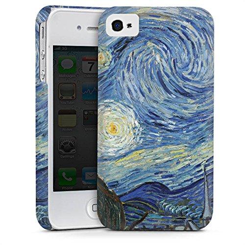 Apple iPhone 5s Housse Étui Protection Coque Vincent van Gogh La Nuit étoilée Art Cas Premium mat