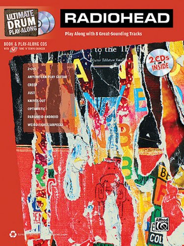 Radiohead - Ultimate Drum Play-Along: Book/2-CDs Pack (Ultimate Play-Along) por Alfred Publishing