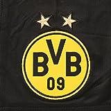 PUMA Kinder Hose BVB Replica Shorts, black-cyber yellow, 140, 749834 02 -