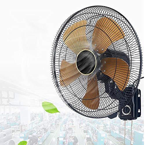 HRD Ventilador Grande silencioso Comercial, Ventilador de Pared Industrial, Ventilador oscilante del...