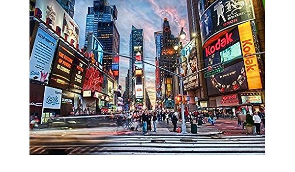 9 X 1 83 M New York City Times Square Fotografie Studio Kamera