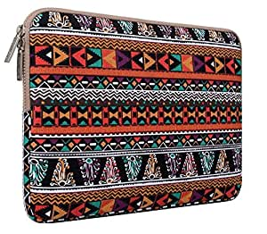 MOSISO - Stile Bohemien Tessuto di Tela Custodia Borsa Involucro Sleeve Case per 12,9 iPad Pro e Laptop / Notebook / Computer Portatile / MacBook Pro / MacBook Air da 13-13.3 Pollici, Fenice