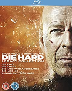 Die Hard: Legacy Collection (Films 1-5) [Blu-ray] [1988]