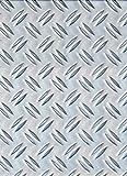 Gah-Alberts 466695 - Lamiera con scanalatura in alluminio, 120x1000x1,5 mm 250 x 500 x 1,5 mm