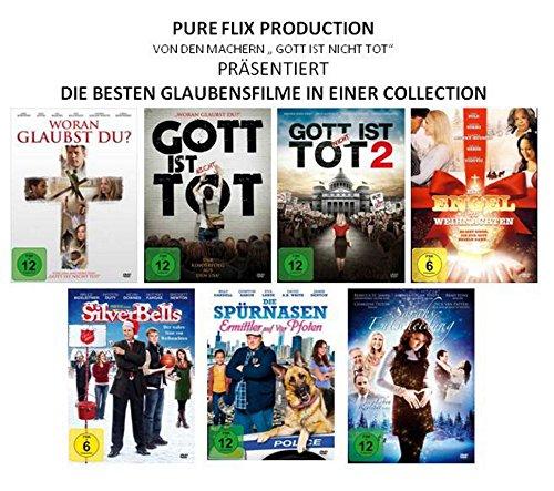 PURE FLIX - Glaubensfilme ( von den Machern von Gott ist nicht tot ) [7 DVDs]
