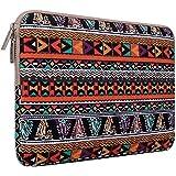 MOSISO - Estilo Bohemio Tela de Lona Funda Blanda Bolso Sleeve para Ordenador Portátil / MacBook / MacBook Pro / MacBook Air de 13-13,3 Pulgadas, fénix