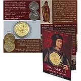 Richard III Plantagenet ángel Repro moneda 1452–1485