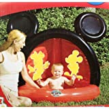 Mickey Mouse Clubhouse Inflatable Baby Pool with Sprinkler by Disney (English Manual)