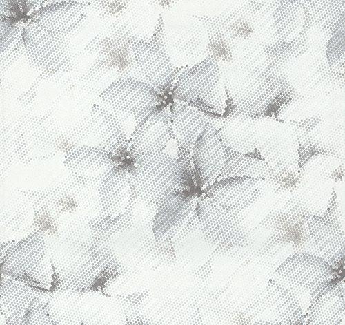 """P + S papel pintado de la colección""""Fashion for walls"""" by Guido Maria Kretschmer, de colour blanco, 02469-30"""