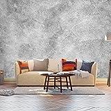 Fototapete Betonmauer - Grunge Vlies Tapete Wandtapete - Tapete - Moderne Wanddeko - Wandbilder - Fotogeschenke - Wand Dekoration wandmotiv24 Größe: M 250 x 175 cm - 5 Teile - Vlies