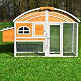 Zooprimus Hühnerstall 90 Geflügelhaus - Kiki-Riki - Stall für Außenbereich (für Kleintiere: Hühner, Geflügel, Vögel, Enten usw.)