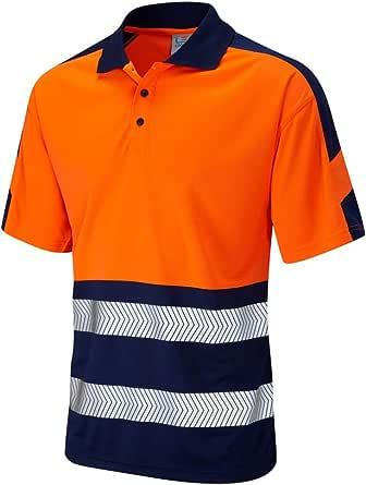 LEO Watersmeet Class 1 Two Tone Hi Vis Polo Shirt (ISO 20471)