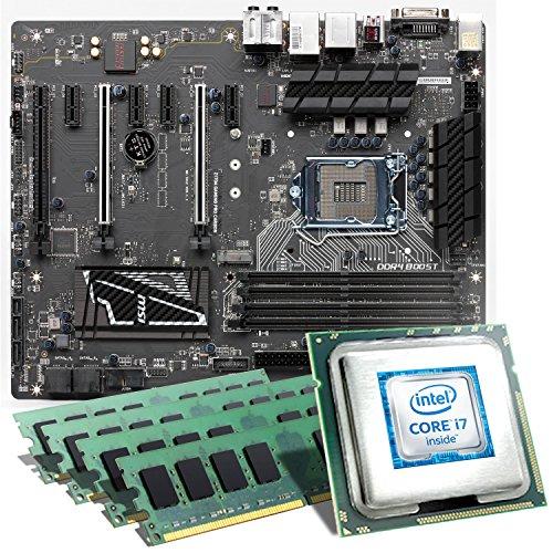 Intel-Core-i7-6700K-MSI-Z170A-GAMING-PRO-CARBON-Mainboard-Bundle-32768-MB-CSL-PC-Aufrstkit-Intel-Core-i7-6700K-4x-4000-MHz-32768-MB-Intel-HD-Graphics-530-GigLAN-71-Sound-USB-31-Gen-2-Aufrstset-PC-Tuni