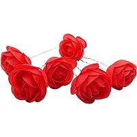 Tooky, 12 fermagli floreali per capelli per ragazze e donne, per matrimoni, balli e feste