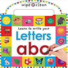 Wipe Clean Learning Letters (Wipe Clean Write and Learn) by Roger Priddy (2011-01-01)