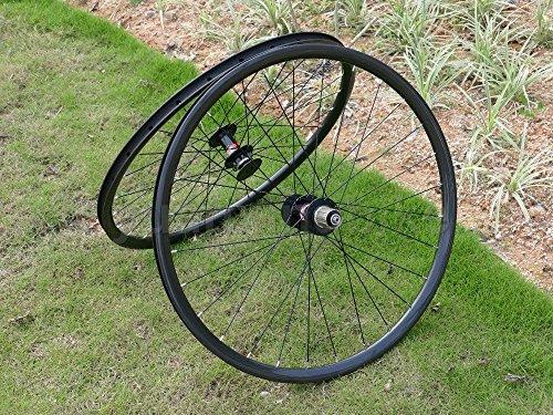 Toray Carbon Laufradsatz Full Carbon UD matt 27.5ER 650B Mountainbike Drahtreifen Felge Bremse, Fahrrad MTB - Fahrrad Carbon-felgen