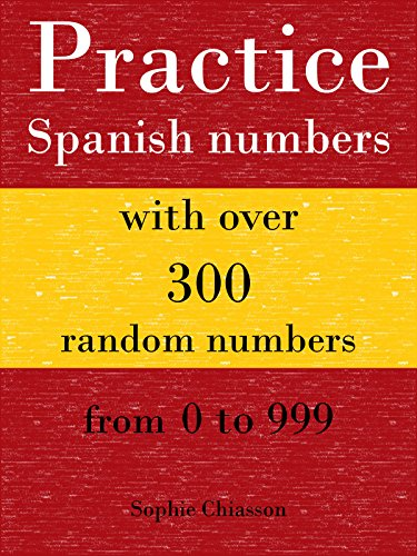 Practice Spanish numbers with over 300 random numbers from 0 to 999 por Sophie Chiasson