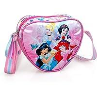 INACIO Wandertasche mit Schultergurt Disney Prinzessinnen Aschenputtel Jasmin Schneewittchen Ariel Herzförmig MÄDCHEN…
