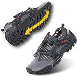 Scarpe Barefoot Scarpe Trail Running Uomo Donna Antiscivolo Scarpette da Mare Asciugatura Rapida Fitness Unisex Nuotare Nero