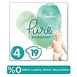 Prima Pure Bebek Bezi 4 Beden, 19 Adet