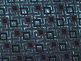 Minerva Crafts Geometrische Quadrate Gewebe der Metallic