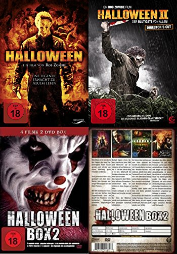 Rob Zombie - Halloween Collection Teil 1 & 2 + 4 Bonusfilme DVD Limited Edition