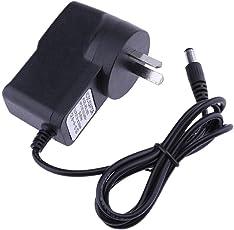 BESTVECH 9V 300mA AC to DC Power Adapter Converter 5.5*2.5mm Center Negative