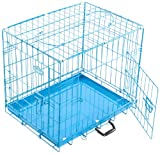 Easipet Dog Cage, 24-inch, Blue