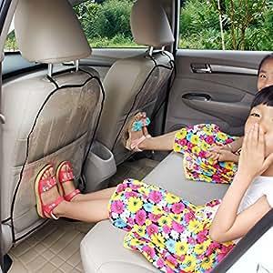 KKmoon enfants chiens auto Housse de Siège arrière Protecteur Kick Mat anti poussières 45 x 57cm