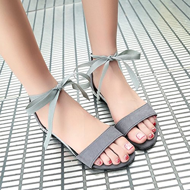 066b18fd186 GAOLIM GAOLIM GAOLIM Bow Tie Sandals Female Students In The Summer And  Versatile Minimalist Dew-