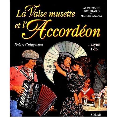 La Valse musette et l'accordéon (1 livre + 1 CD audio)